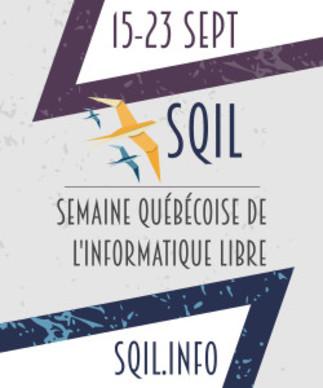 Semaine québécoise de l'informatique libre (SQiL) 2018