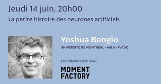 Conférence «Nocturne» de Yoshua Bengio