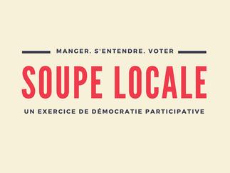 Soupe Locale à Temps Libre Mile-End + mini-marché fermier