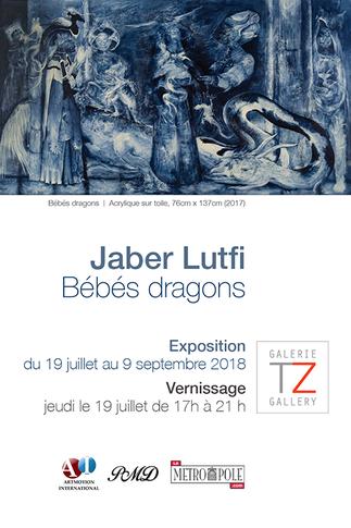 Bébés dragons - Une exposition de Jaber Lutfi
