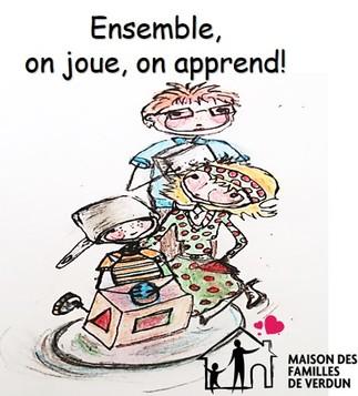 Danse et vocabulaire avec la maison des familles de Verdun