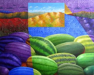 Vernissage de l'exposition Les couleurs de mon esprit