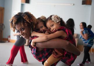 Atelier MamanDanse parent-enfant
