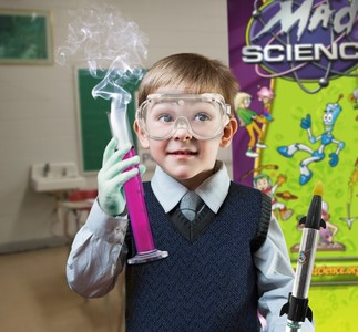 La science des jouets!