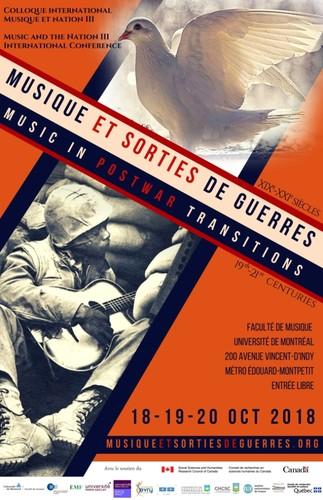 Colloque international Musique et sorties de guerres, XIXe-XXIe siècles