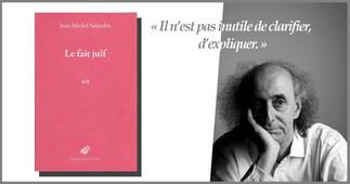 Causerie avec Jean-Michel Salanskis - Le fait Juif
