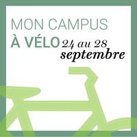 Semaine « Mon campus à vélo »