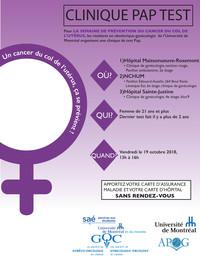 La semaine de prévention du cancer du col de l'utérus
