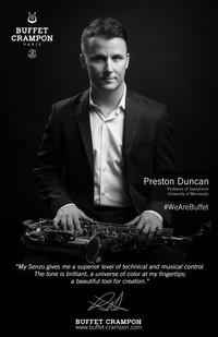 Cours de maître en saxophone classique avec Preston Duncan