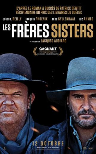 Les frères Sisters (The Sisters Brothers) au Ciné-Campus