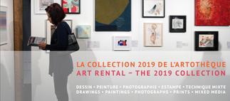 La collection 2019 de l'Artothèque
