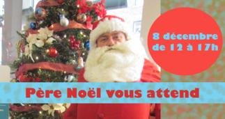 Père Noël vous attend à la librairie Paulines!