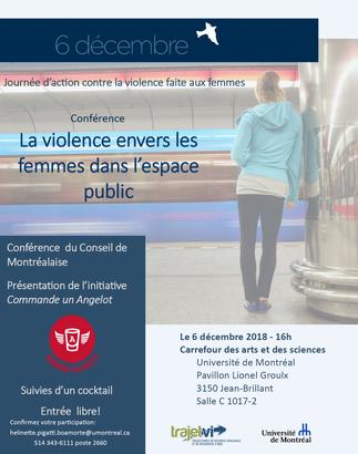 La violence envers les femmes dans l'espace public