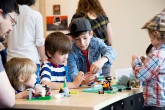 LEGO avec Séverine