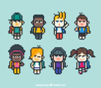 Créez votre personnage en pixels