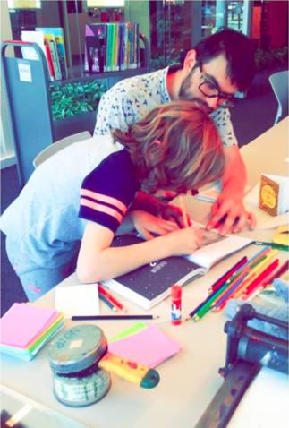 Atelier de création de fanzines avec Grilled cheese Mag