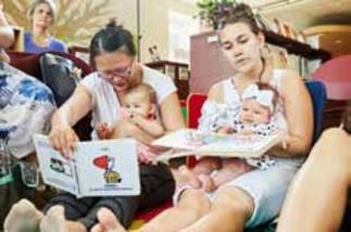 Espace libre parent bébé