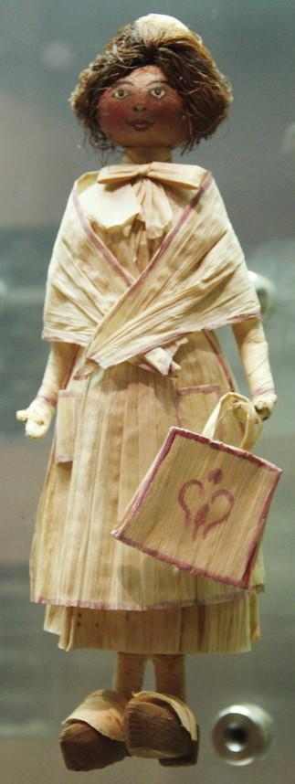 Atelier : fabrication de poupée végétale, avec Martin Lominy dans le cadre du Mois de l'archéologie