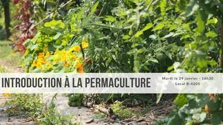 Atelier d'introduction à la permaculture