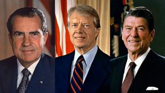 Nixon, Carter et Reagan : trois présidents face à l'histoire