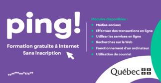 PING! Formation gratuite à Internet
