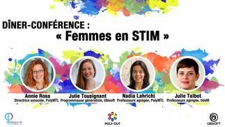Dîner-conférence : Les femmes en STIM