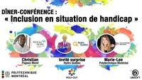 Dîner-conférence : Inclusion en situation de handicap