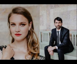 Pascale Brigitte Boilard et Juan David Mora | Concert d'avril au Salon Jaune