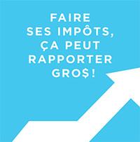 Atelier en français 'Faire ses impôts, ça peut rapporter gros!'