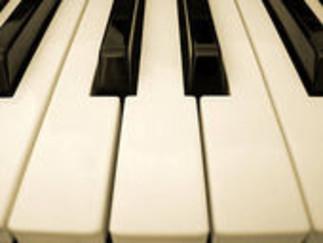 Récital de piano (fin maîtrise) – Tony Stauffer