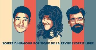 Soirée d'humour politique de L'Esprit libre