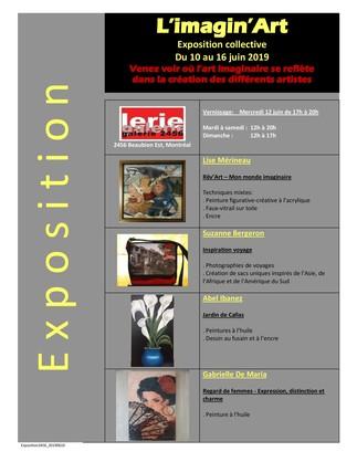 L'imagin'Art - Exposition collective