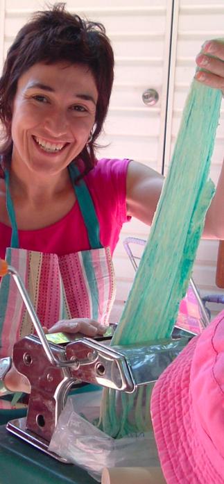 Atelier de pâtes italiennes