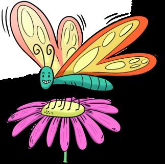 Brico Club TD : papillons en liberté