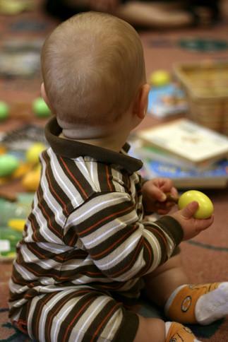 Le matinée des bébés: Les tout petits petons