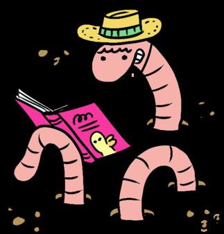 Je lis au soleil!