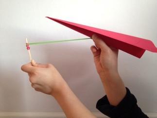 Bricolage en accès libre « Avion à propulsion en BD »