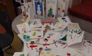 La fabrique de cartes de Noël