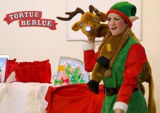 Le traineau du Père Noël