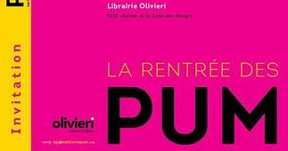 Rentrée des Presses universitaites de Montréal