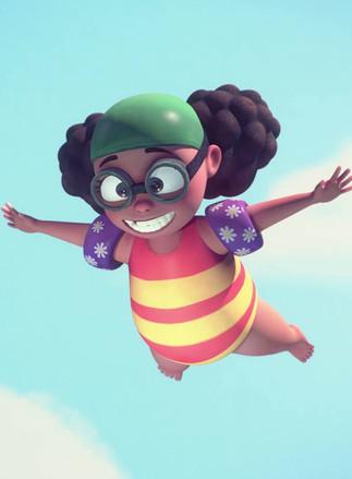 PROJECTION DE FILMS DU FIFEM : La Petite Plongeuse et autres histoires (Dès 5 ans)