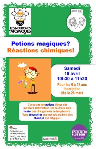 Inscris-toi à cette activité scientifique du Haut-Anjou !