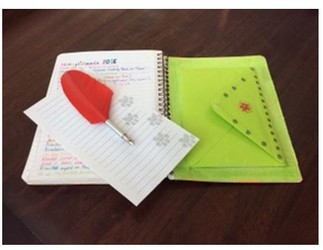 Journal to the Self: a 6 week journal writing workshop, with Hélène Brunet, certified JTTS Instructor Cette activité se déroule en anglais.