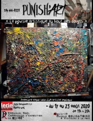 Punish'ART ''La poésie artistique au bout des doigts''