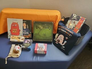 Concours pour la semaine des bibliothèques publiques dans RPP