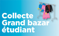 Collecte Grand bazar �tudiant