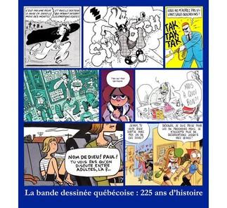 Histoire de la bande-dessinée québécoise