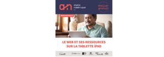 Atelier Tablette iPad (niveau 2) - Le web et ses ressources