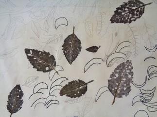 Joyeuses empreintes botaniques