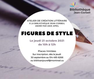 Atelier d'écriture : Figures de style